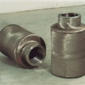 Charging and discharging rolls for billets