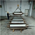 Rolls for continuous annealing and galvanizing lines