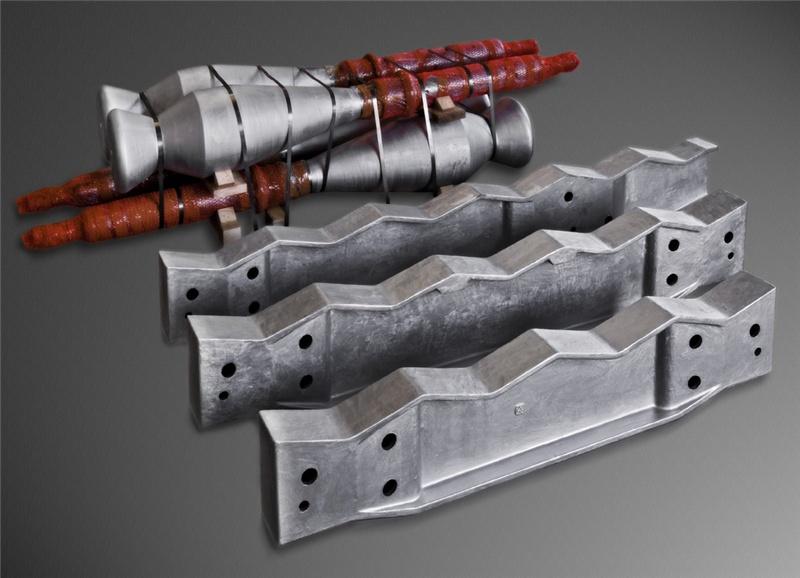 Longheroni, colonne, rulli per forni di trattamento tubi